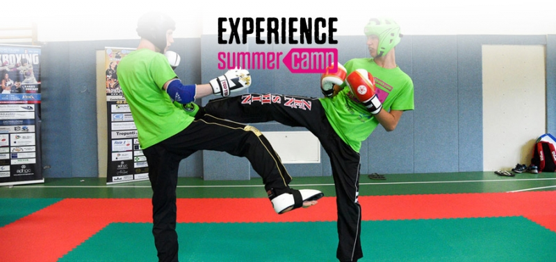 Experience Summer Camp Kickboxing