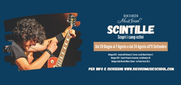 "Summer Music Camp Bologna ""Scintille"""