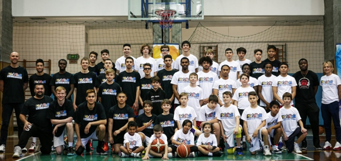 Evolution Super Camp Basket Alta Specializzazione Santa Margherita Ligure