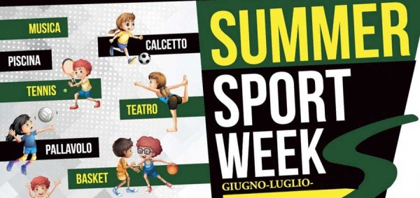 Tor Vergata Sporting Center Summer Sport Week