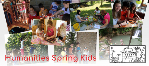 Humanities Spring Kids; Actors, Sculptors and Cooks