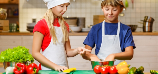 Summer Cooking Camp in Cucina