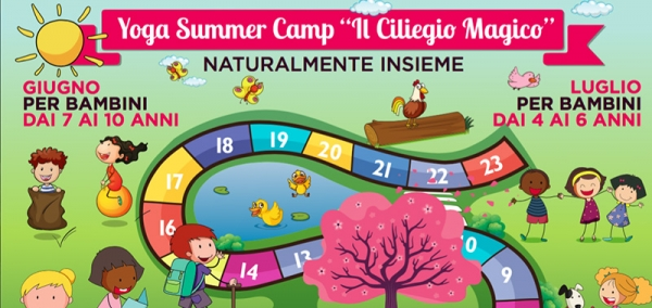 Yoga Summer Camp Il Ciliegio Magico