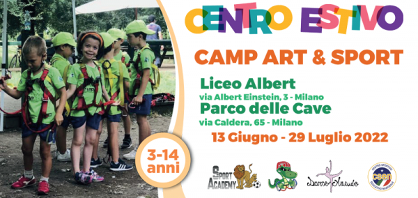 Art & Sport Summer Camp Milano