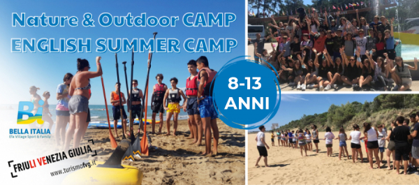 Nature & Outdoor Camp - English Summer Camp