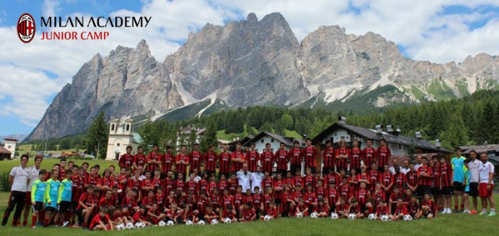 AC Milan Junior Camp Cortina d'Ampezzo