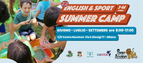 Sport & English Summer Camp Milano