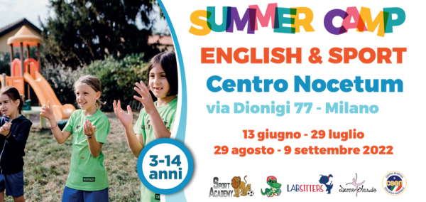 English & Sport Summer Camp Milano