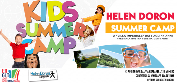 Helen Doron English Summer Camp Posillipo