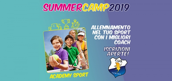 Cus Torino Academy Camp Volley & Beach Volley
