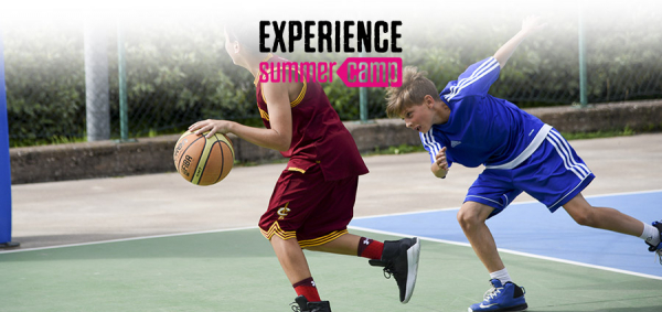 Experience Summer Camp Basket & Inglese al Mare