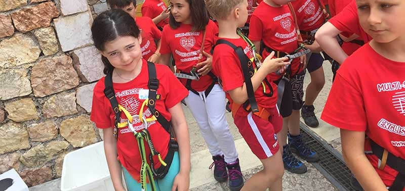 London Village English Sport Camp in Montagna