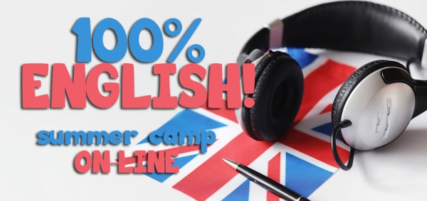 100% English Online Summer Camp